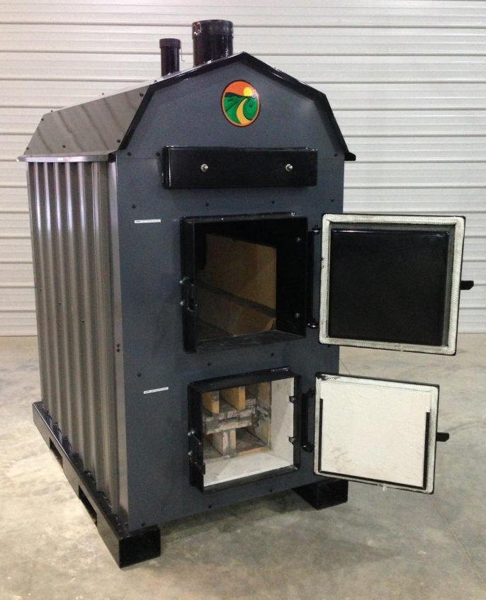 Outdoor Wood Gasification Boiler, Outdoor, Free Engine ...